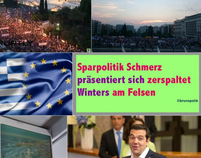"Screen-Shot Twitter-Fotos Hashtag #athen mit Screen-Shots der Poetry aus dem Text ""Wassers Brüllen"""