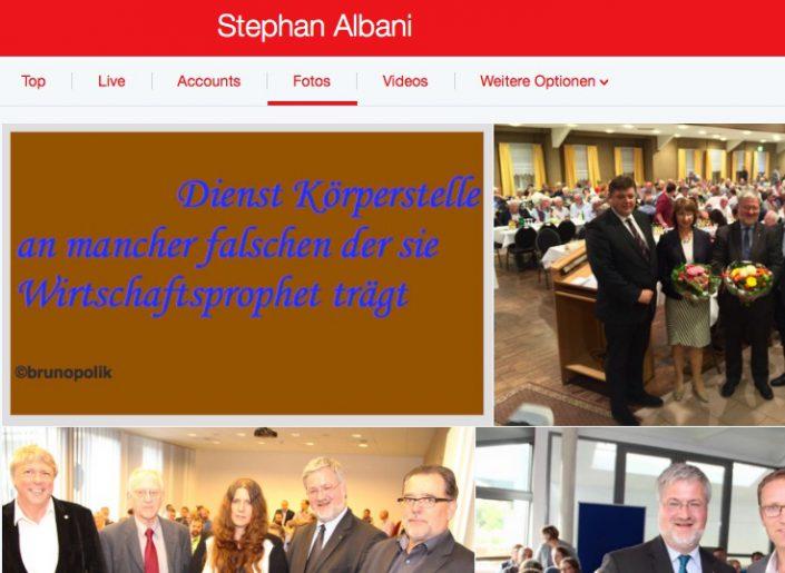 """Screenshot Twitter-Fotos Stephan Albani, CDU-Bundestagsabgeordneter mit einer Strophe aus dem Poetry-Text der PolitikerInnen-Worte """"Unter dem Sitzmuskel"""""""